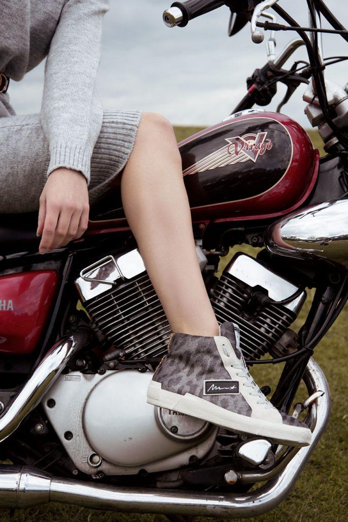 Cotswold Motorbike Chic Fashion Photoshoot Cotswold Fashion Photographer Tyla Paton, Florence Wear MUA Grace Delnevo Photography