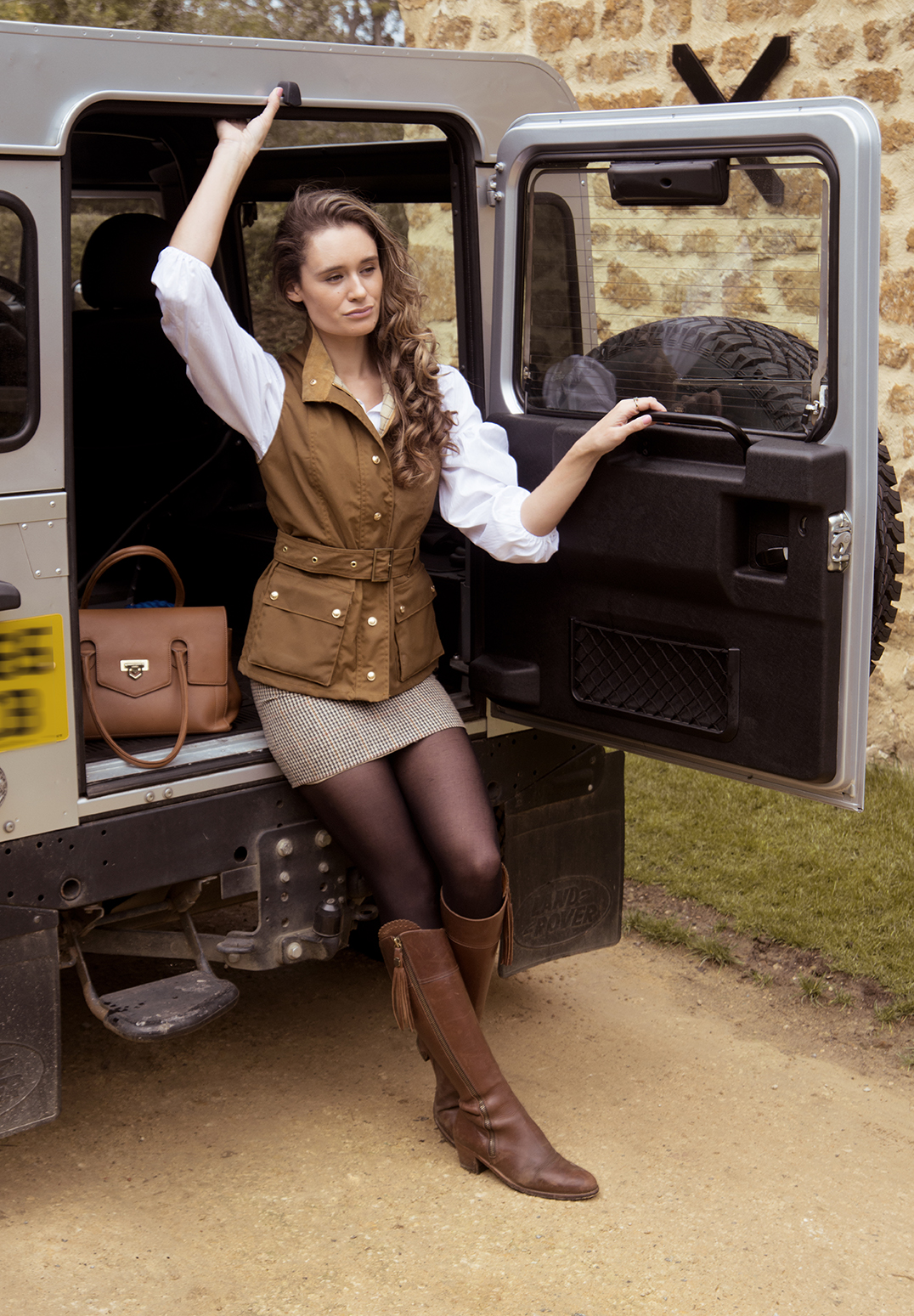 Grace Delnevo Fashion Photographer in the Cotswolds Harris Rae