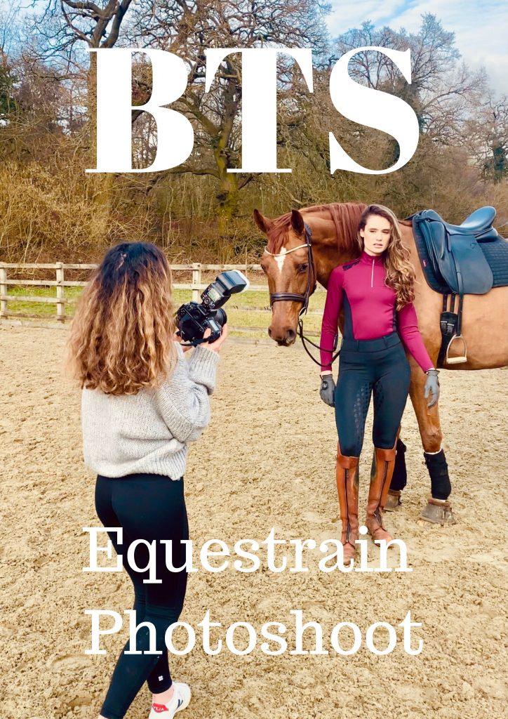 BTS Equestrian Fashion Photoshoot in the Cotswolds