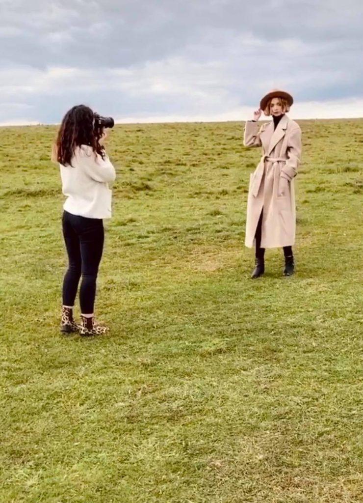 Cotswold Fashion Photoshoot Grace Delnevo Photography Tyla Paton Florence Wear MUA