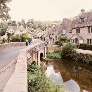 Castle Combe Cotswold Greetings Card